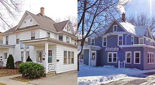 Traver House Renovation - Before/After