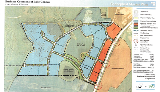Build Your Campus on Lake Geneva's Business Commons