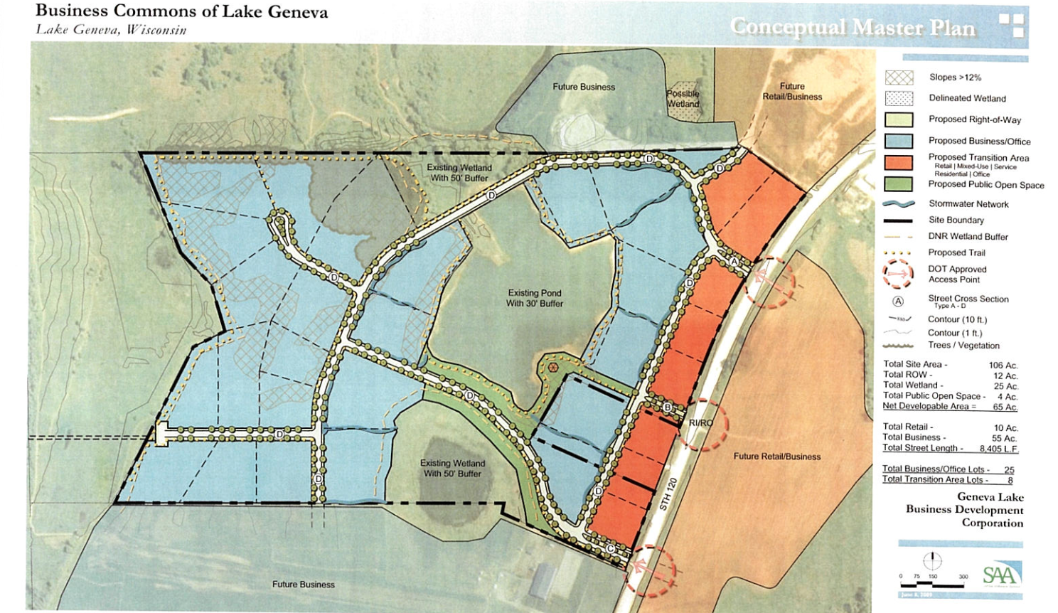 Build Your Corporate Campus on the Lake Geneva Business Commons